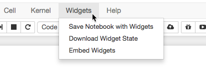 Save Jupyter Widget